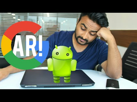 Augmented Reality in your Android Phone! Google ARCore 2017