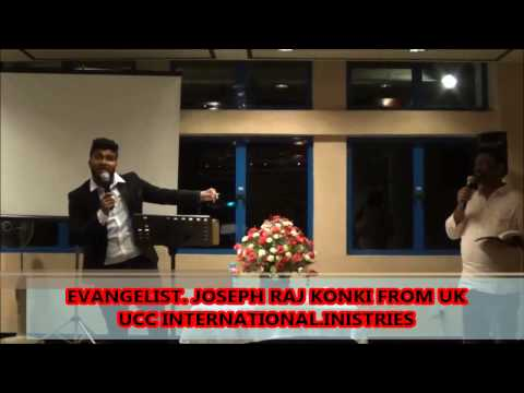 Pastor Joseph Raj Konki Message at GGMTF Church Singapore
