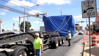 21 Foot Steam Drier Escorted To Peach Bottom Atomic Power Station