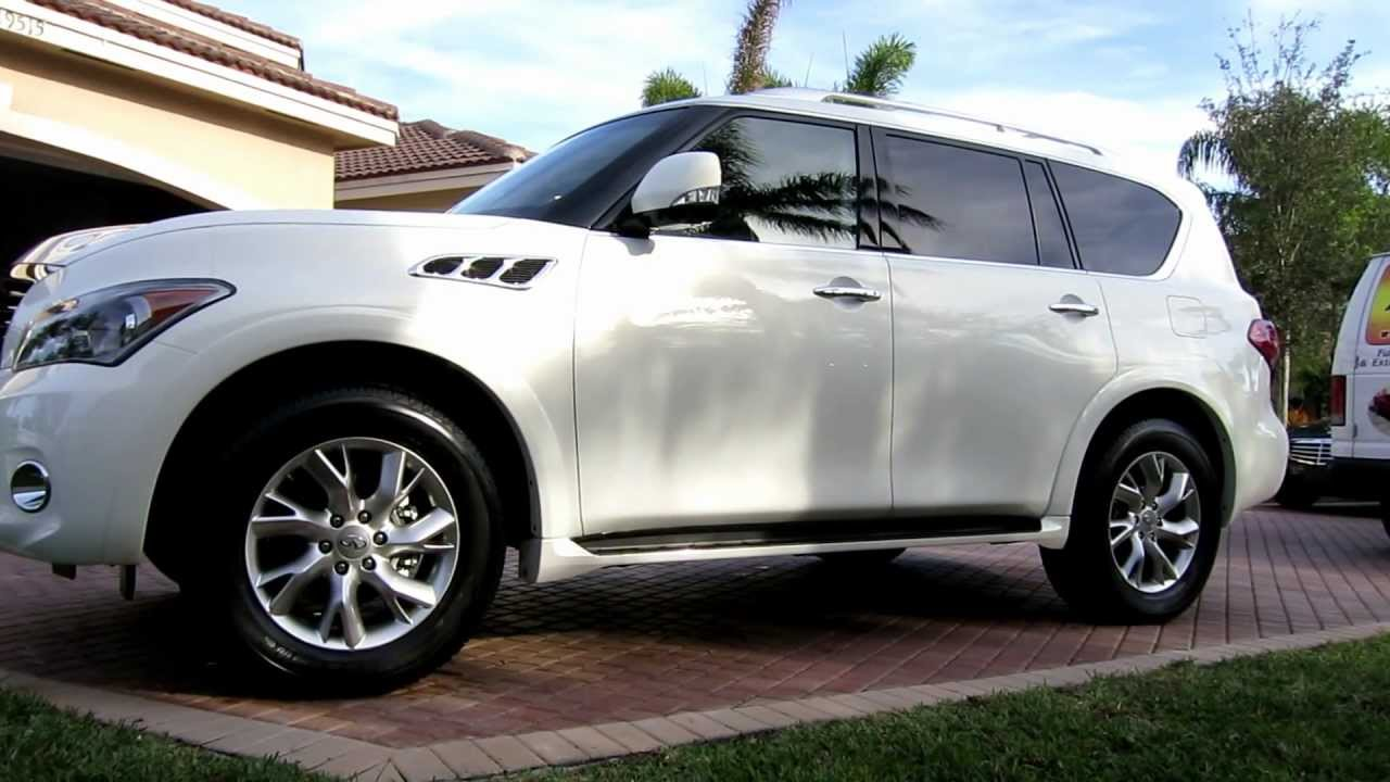 Pearl White Infiniti Q56 By Advanced Detailing Of South Florida