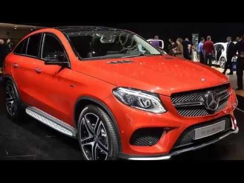 Видео: Мерседес Бенц Mercedes Benz GLE Coupe