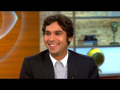 'Big Bang Theory' star Kunal Nayyar on his accent, new book and family