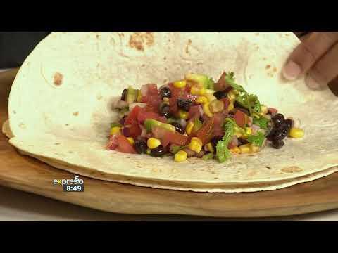 Recipe: Black Bean & Corn Burritos