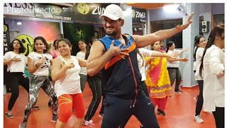 Zumba fitness cardio workout on jillam jillala /honeybee2