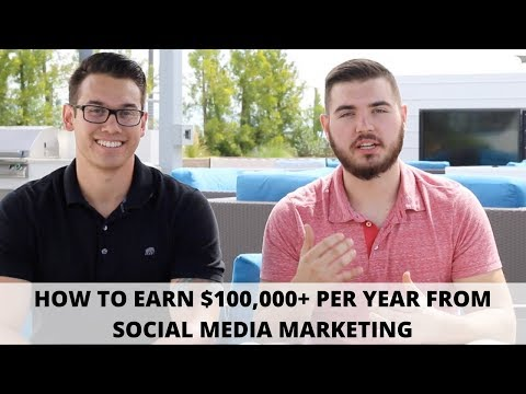 How To Earn $100,000+ Per Year From Social Media Marketing