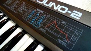 Roland Alpha Juno 2 Analog Synthesizer (1986)