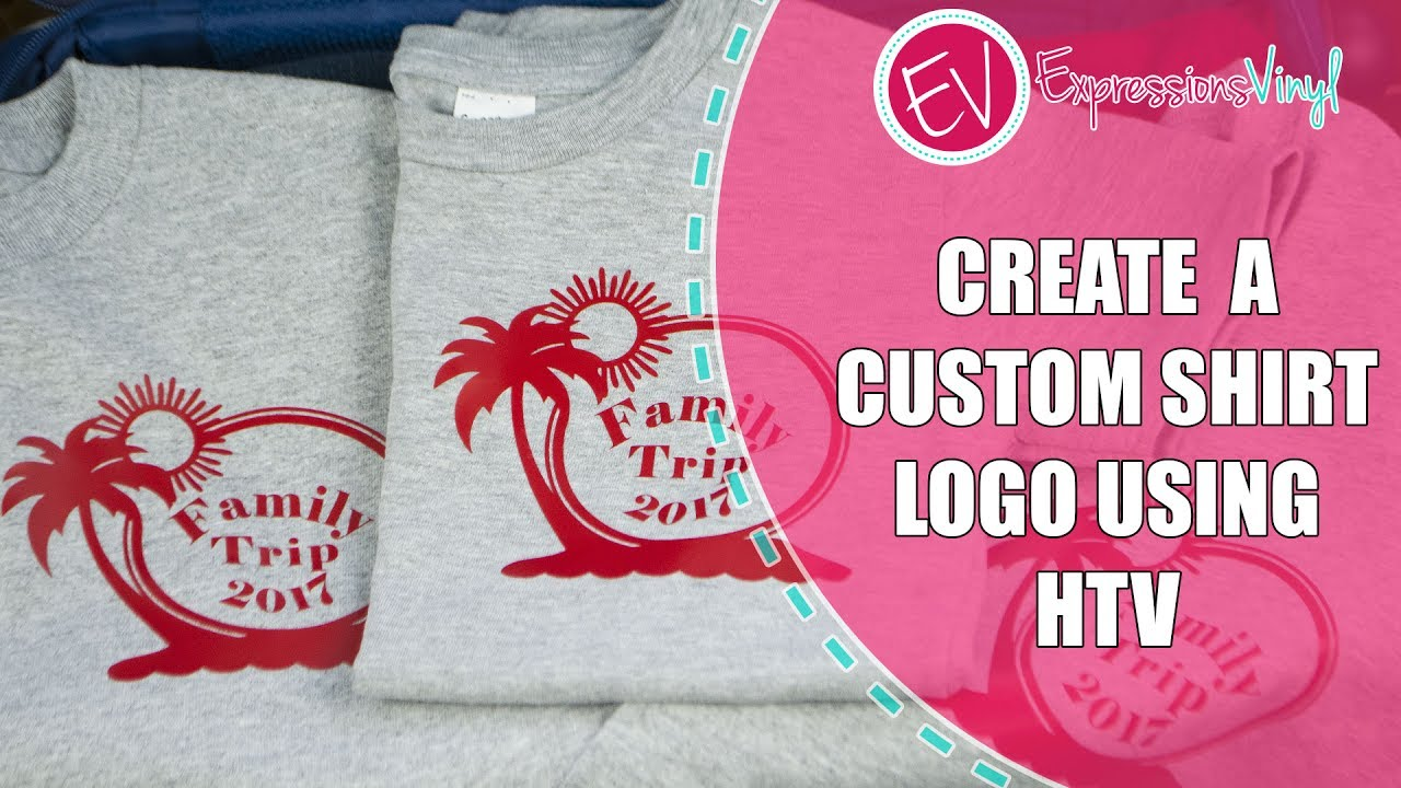 Create a Custom Shirt Logo Using Heat Transfer Vinyl