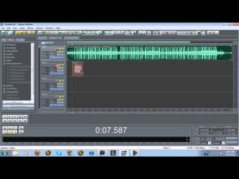 How I mix vocals in Adobe Audition