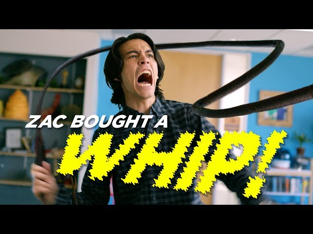 Zac Bought a Whip - YouTube