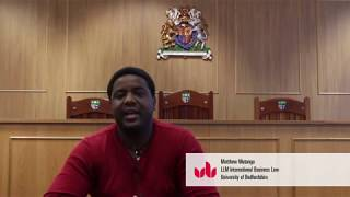 Meet Matthew,  LLM International Business Law