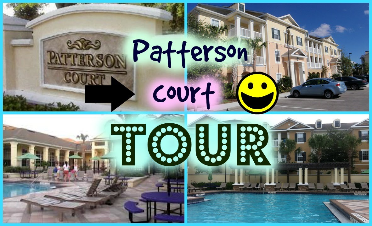Patterson Court Tour Disney Program Youtube