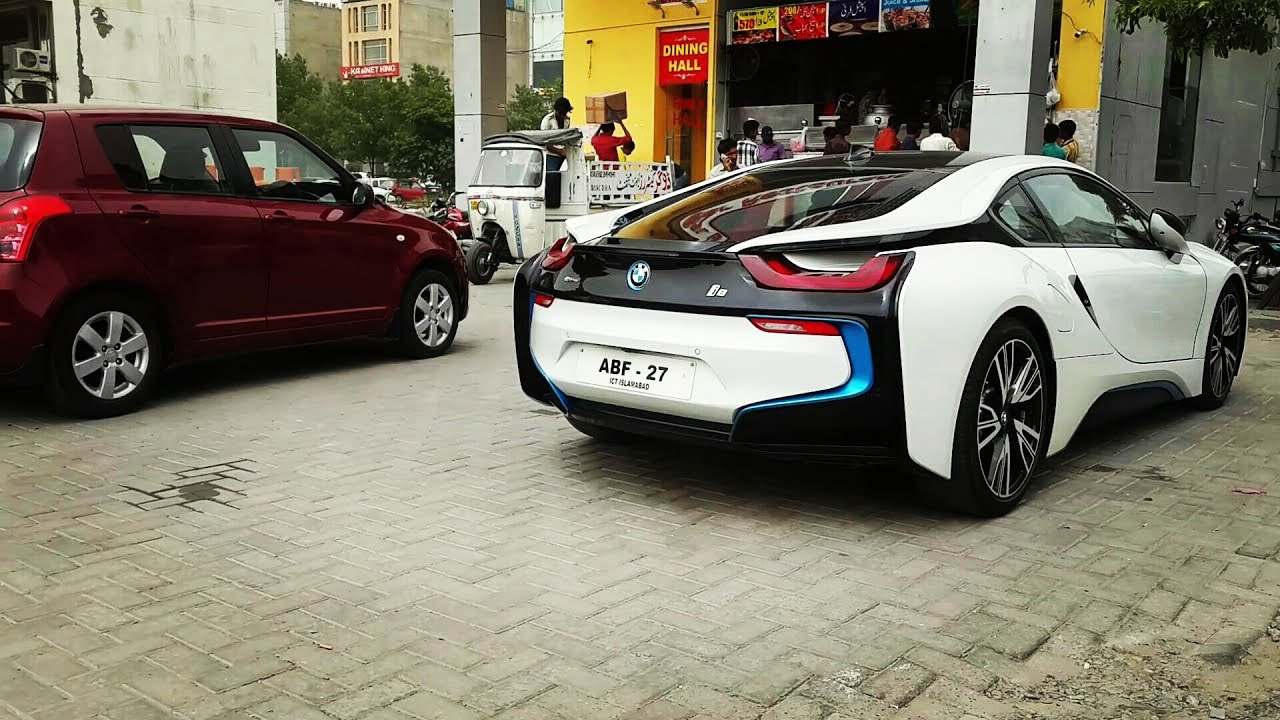 The 150 000 Bmw I8 In Pakistan Lahore Not A Click Bait