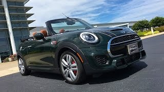 2017 MINI John Cooper Works Convertible FIRST DRIVE REVIEW @ Richmond International Raceway (2 of 2)