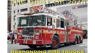 Best of 2015 FDNY responding firetrucks HD ©