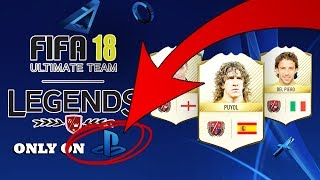 Legends on ps4 fifa 18 ultimate team | omfg legends on ps4 fut 18 | fifa 18 ultimate team