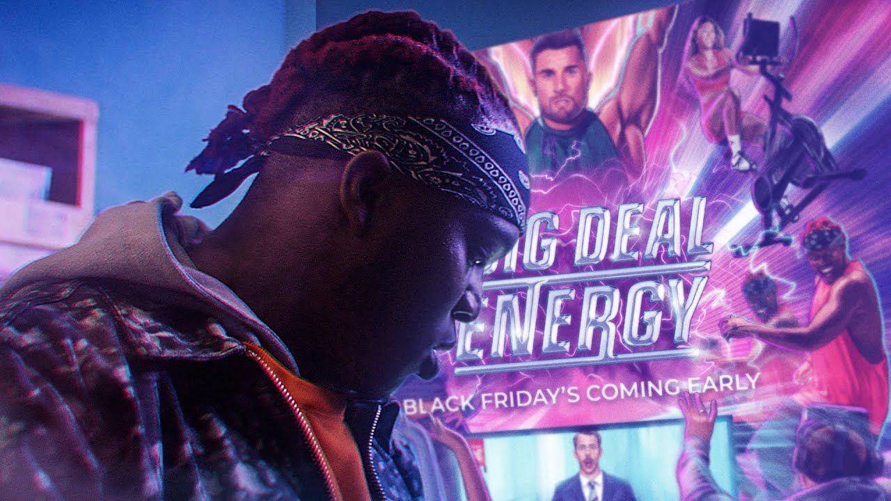 Gymshark Black Friday Sale Big Deal Energy Ft Ksi Behzinga Calfreezy Youtube