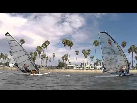SDWA Fall Picnic Formula Windsurf Fly-bys