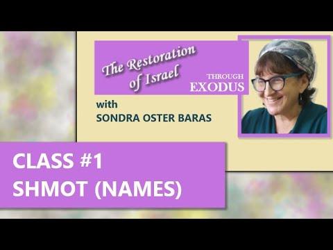 The Restoration Of Israel Episode 1 Shmot  Exodus 1:1 – 6:1