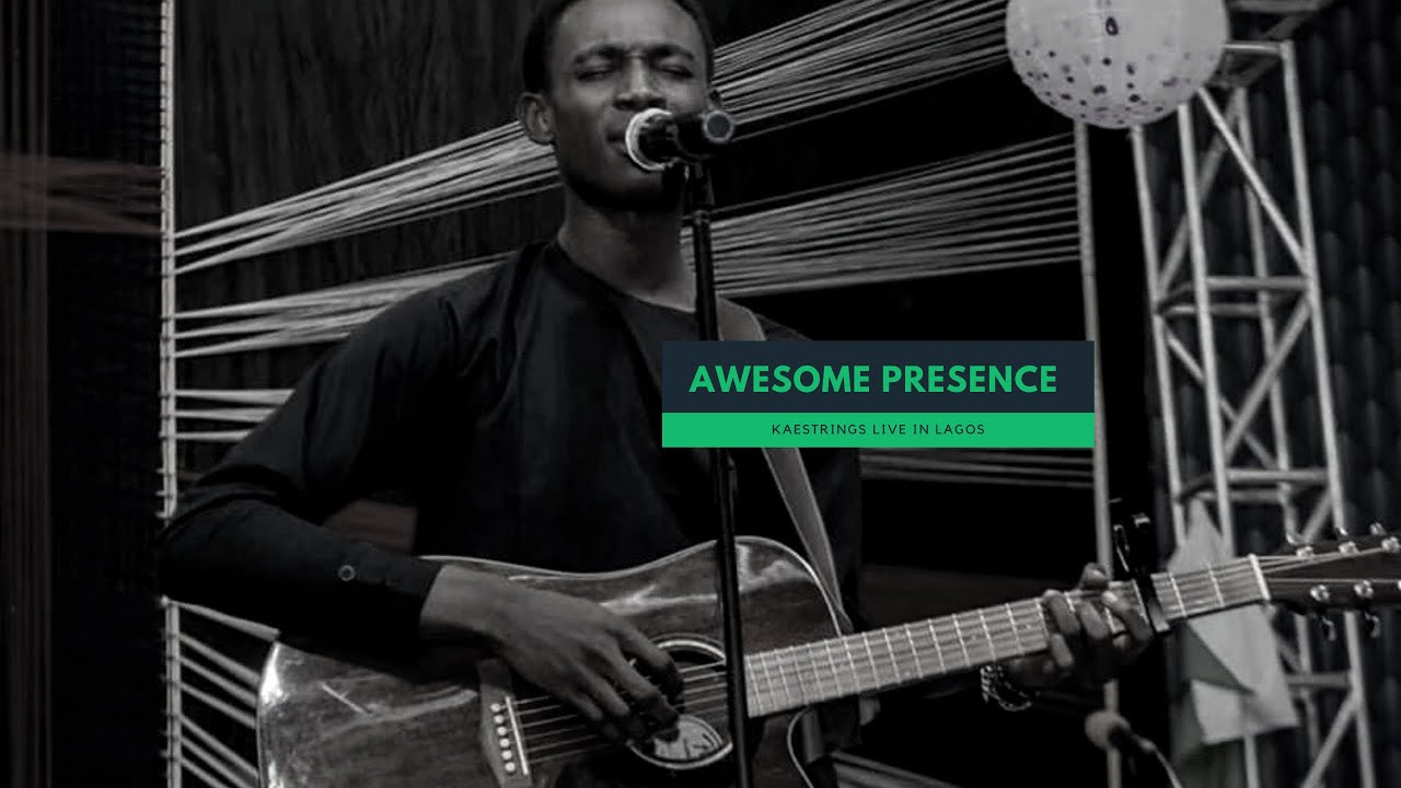 deep and intense atmosphere of worship - Kaestrings live at Azusa 19 Lagos   Bless the Lord