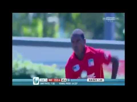 Cuthbert Musoko, 2012 U19 Cricket World Cup
