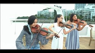 """""""Part Of Your World"""" from The Little Mermaid - 3 violins & piano  (Note, Pin & Emilee)"""