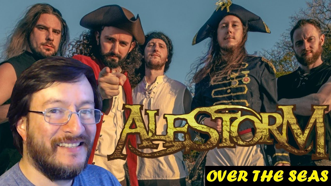 Alestorm   Over The Seas (en vivo)   REACCIÓN (reaction)