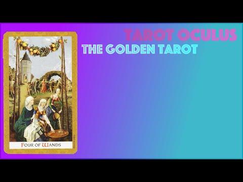 Tarot Reviews:  The Golden Tarot