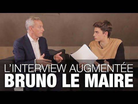 Présidentielle 2017 : l'interview augmentée de Bruno Le Maire