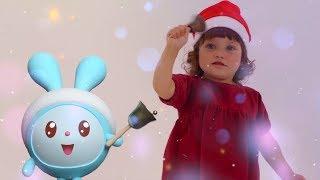 Малышарики - песенка - Динь-Динь-Дон -  для самых маленьких - клип на песню - новый год