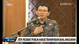 Video Ahok: Pejabat Publik Harus Transparan Soal Anggaran download MP3, 3GP, MP4, WEBM, AVI, FLV September 2019