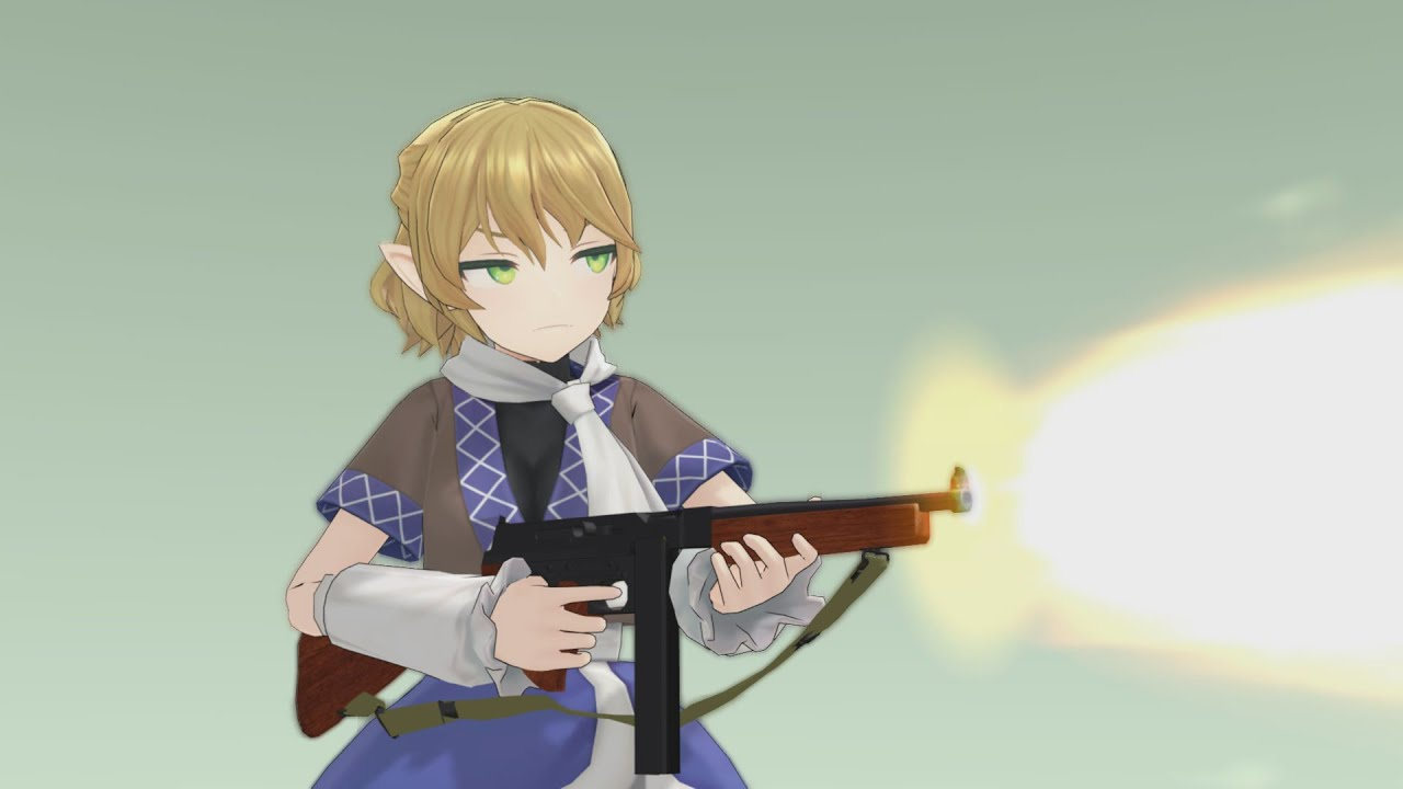 Parsee with M1A1 Thompson