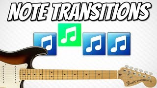 Clean Guitar Playing #2 | Note Transitions