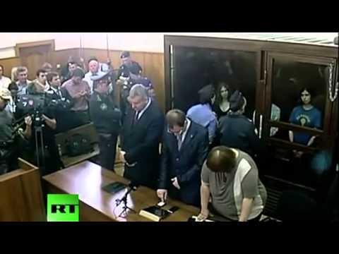 Оглашение приговора Pussy Riot