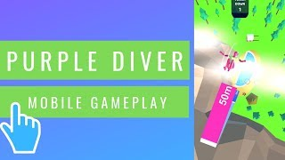 Purple Diver | Most Difficult Levels | iOS/Android Mobile Gameplay (2019)