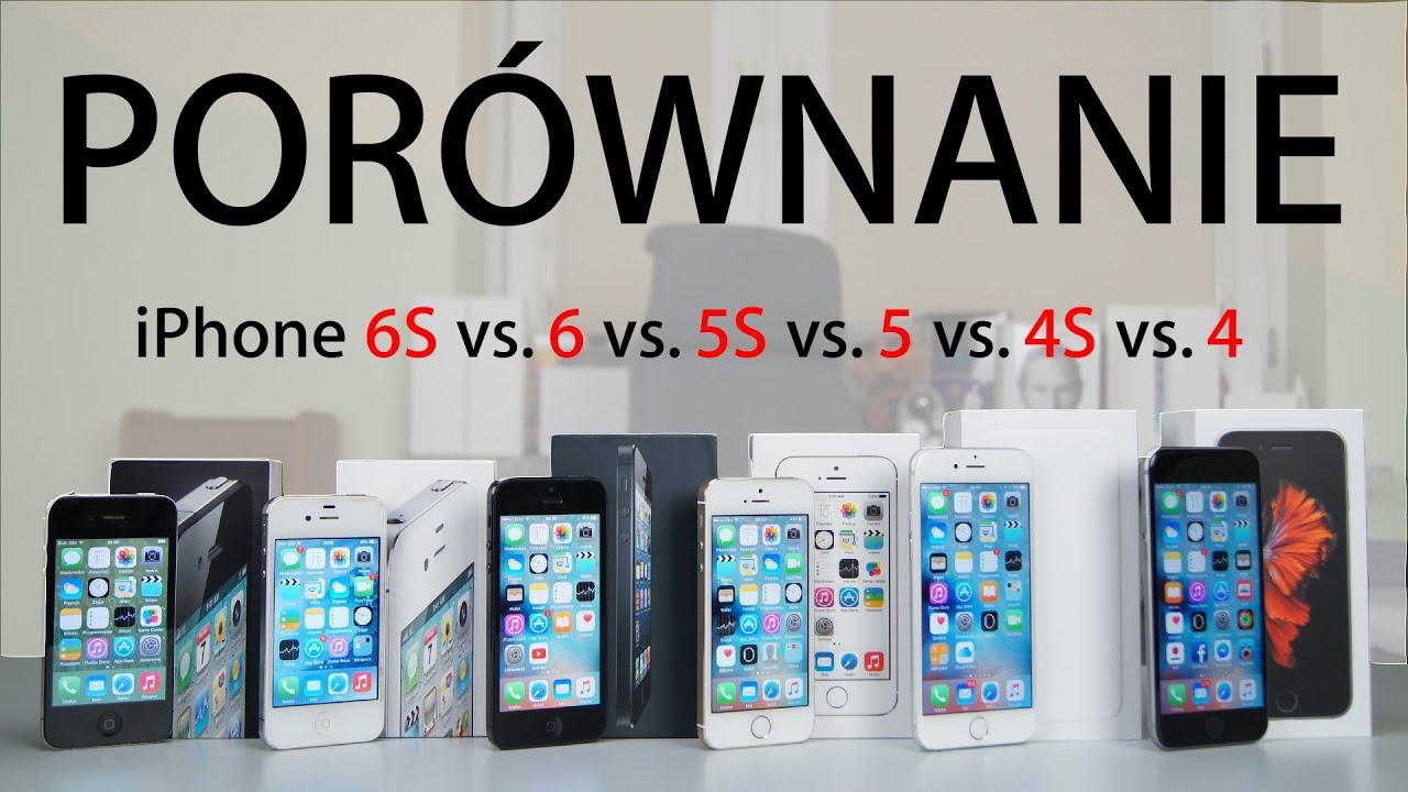 iphone 6s i 6 porównanie