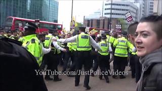 London Protests May 6 & 7 2017