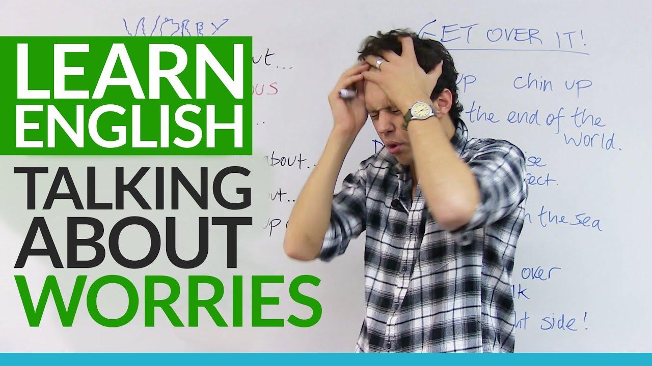 I'm anxious when i talk in english?