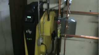 Mathews Brothers Plumbing & HVAC Mestek Ray 92% Efficient Cast Iron Boiler and Superstor Newton, MA