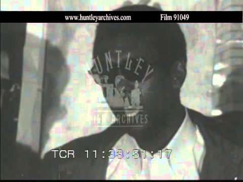 Stokely Carmichael, 5th April 1968 after death of Martin Luther King.  Film 91049