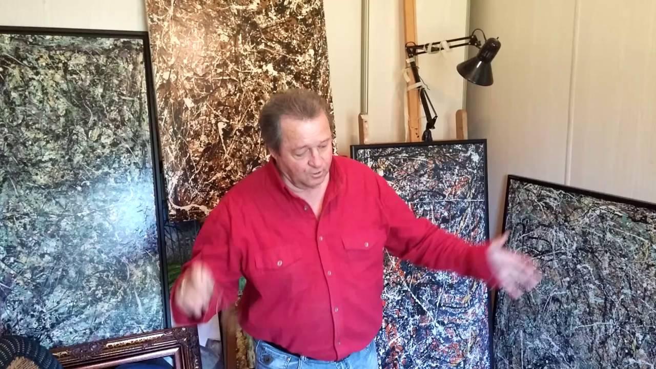 Préférence jacques fortin artiste peintre abstrait part 1 - YouTube NZ33
