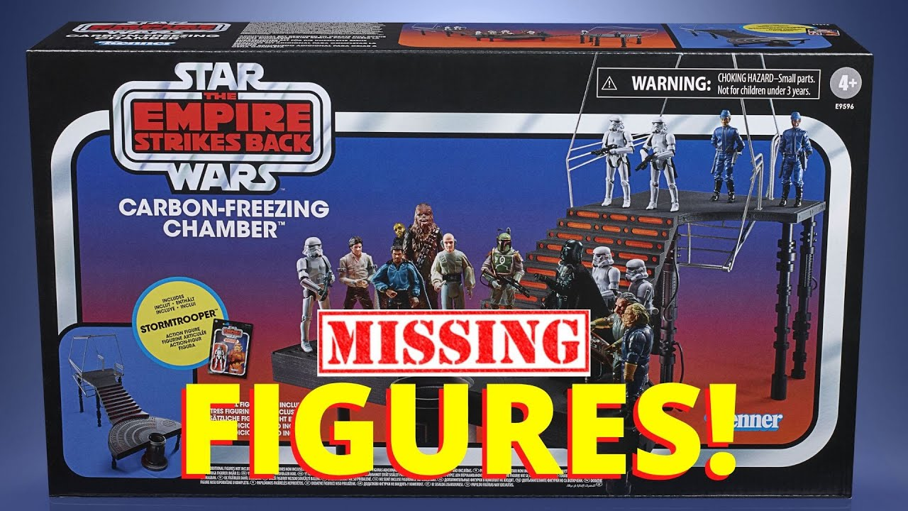Star Wars Vintage Collection Carbon Freezing Chamber  - The Figures You Need