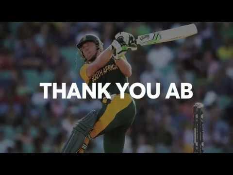 Thank You, AB de Villiers! #ABRetires