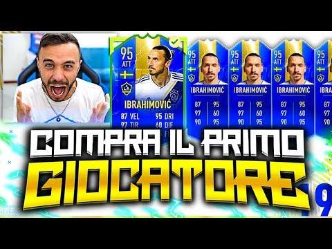 IBRAHIMOVIC TOTS!!!!!!!! COMPRA IL PRIMO GIOCATORE su FIFA 19!
