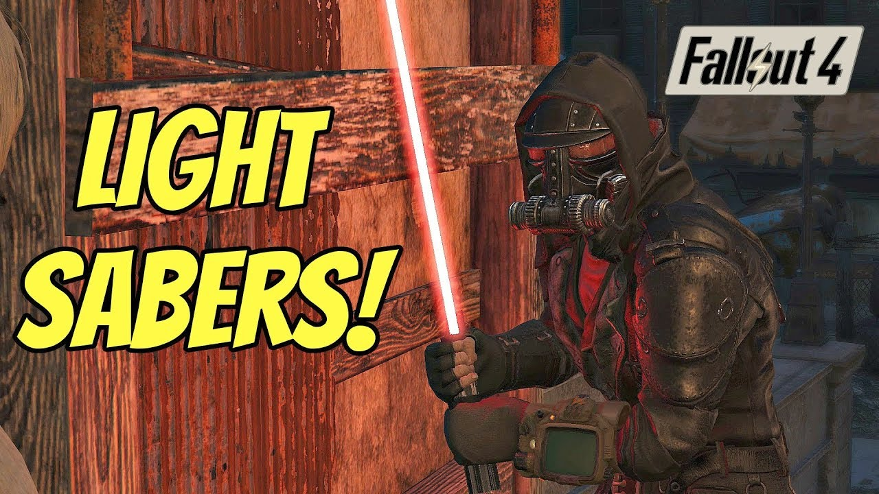 Star Wars: The Lightsaber | A Fallout 4 Mod |