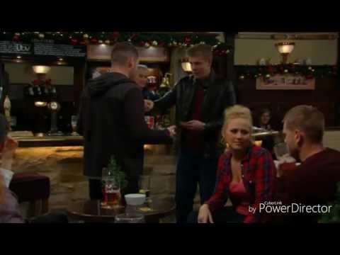 Emmerdale - Aaron and Robert Wins Pub Quiz (16th December 2016)
