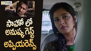 Anushka To Play Cameo Role in Saaho Movie  Prabhas Sujeeth - Filmyfocuscom