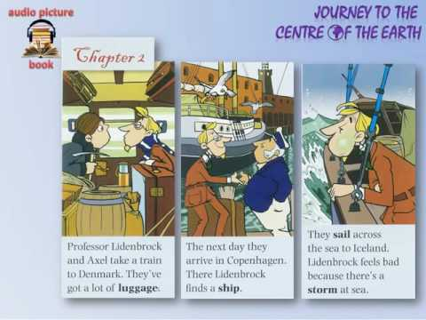 Learn English Through Story  Journey to the Center of the Earth Subtitled