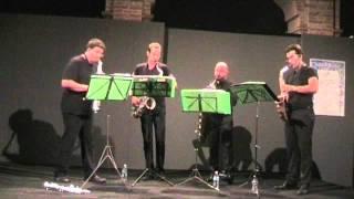 Atem Sax Quartet - Czardas di Monti