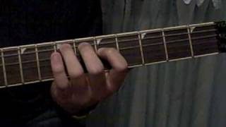 How To Play Megadeth - Dread And The Fugitive Mind (guitar lesson)