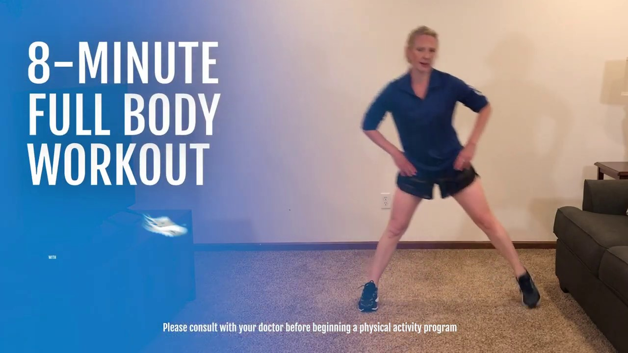 8-Minute Full Body Workout with